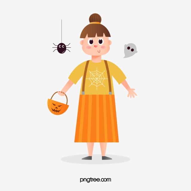 17ad07afcb6c Halloween cartoon cute kid, Halloween, Children, Pumpkin PNG and Vector