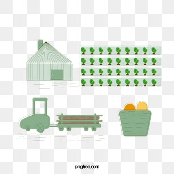 green farm, Farm, Agriculture, Farmhouse PNG and Vector