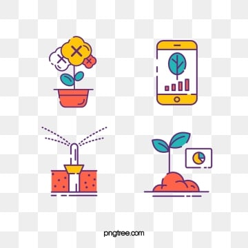 smart farm linear icon, Intelligent, Farm, Linear PNG and Vector