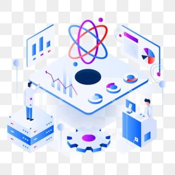 data scientist isometric illustration concept  modern flat design concept of web page design for website and mobile website vector illustration eps 10, Data, Scientist, Isometric PNG and Vector