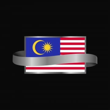 malaysia flag ribbon banner design, 16, 16th, Asia PNG and Vector