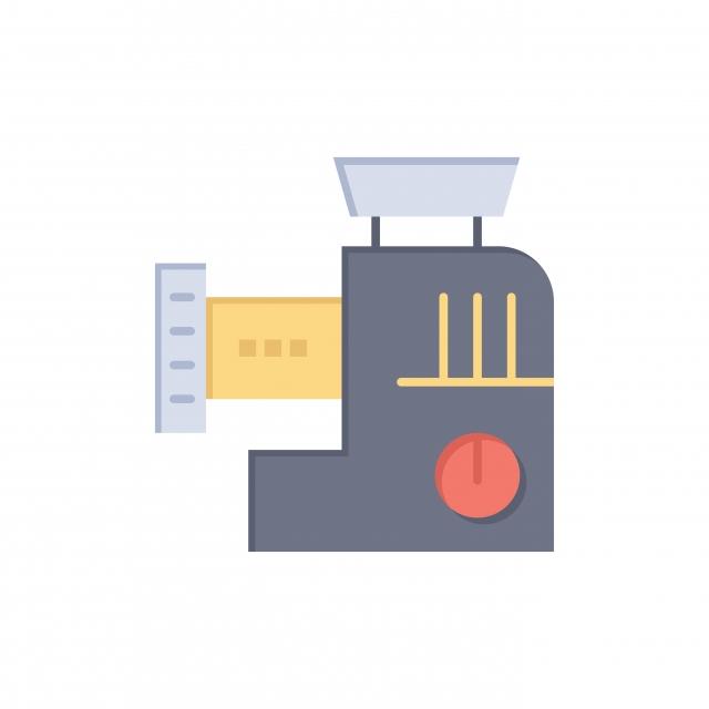 Mezclador Cocina Manual Mezclar Color Plano Icono Icono Vector