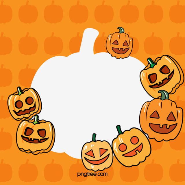 Halloween Pumpkin Cartoon Images.Halloween Pumpkin Cartoon Border Halloween Pumpkin