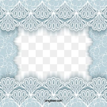 blue wedding european lace cut paper border, Blue, Paper-cut, Europe PNG and Vector