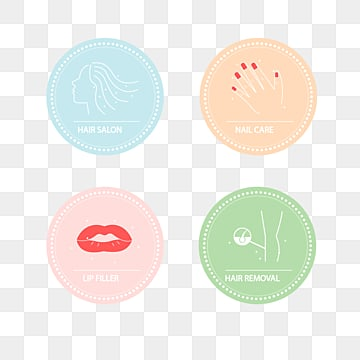 fresh macaron beauty label, Beauty Label, Flat Style, Cosmetology PNG and Vector