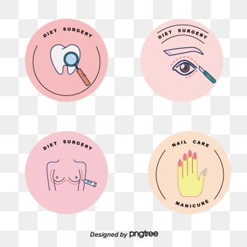 macaron fresh color linear beauty label, Cosmetology, Beautiful, Label PNG and Vector