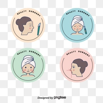 macaron fresh color linear beauty label, Macaroon, Soft Pale, Linear PNG and Vector