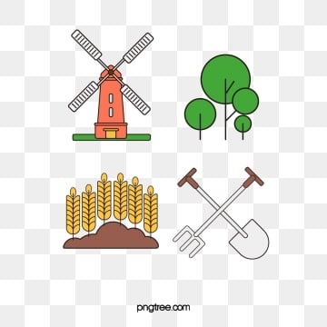 smart farm linear icon vector design elements, Farm, Icon, Linear PNG and PSD