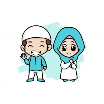 muslim png vector psd and clipart with transparent background for free download pngtree https pngtree com freepng a happy couple muslim kids 4974409 html