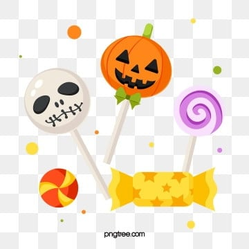 cartoon hand drawn halloween candy, Halloween, Candy, Cartoon PNG and Vector