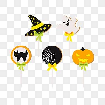 cute cartoon halloween candy, Halloween, Candy, Pumpkin Candy PNG and Vector