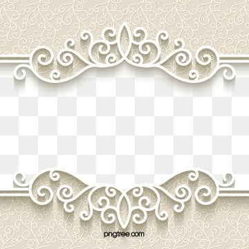 european fresh paper cut lace border, European Style, Paper-cut, Pattern PNG and Vector