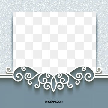 european lace paper cut wedding border, Pattern, Paper-cut, Curve Wedding PNG and Vector