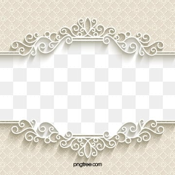 european paper cut lace wedding border, Paper-cut, European Style, Frame PNG and Vector
