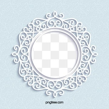 european paper cut wedding lace pattern border, European Style, Paper-cut, Texture PNG and Vector