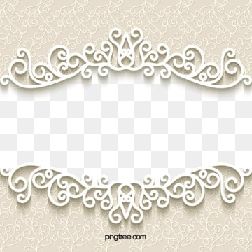 fresh european wedding paper cut border, European Style, Paper-cut, Wedding PNG and Vector