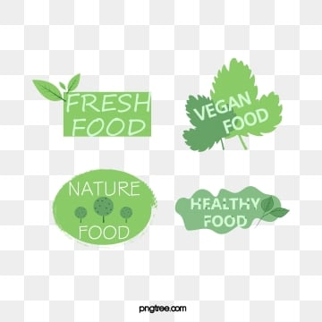green fresh cute farm label, Leaf, Green Leaf, Green PNG and Vector