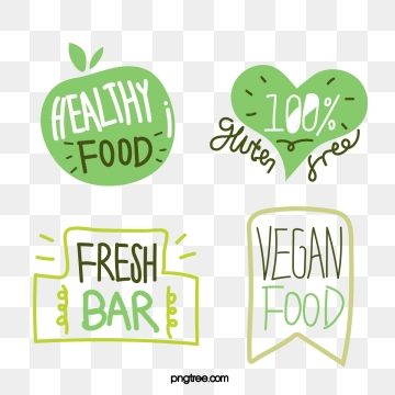 green fresh hand drawn farm label, Green, Fresh Style, Simple PNG and Vector