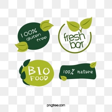 green fresh style farm fruit green leaf label, Farm, Soft Pale, Label PNG and Vector