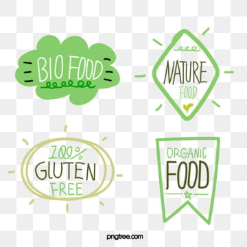 green fresh style simple hand drawn farm label, Green, Fresh Style, Simple PNG and Vector