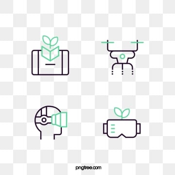 intelligent farm management icon, Farm, Green, Icon PNG and Vector