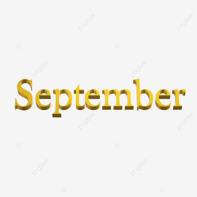 september 3d gold Art Font For Free Download
