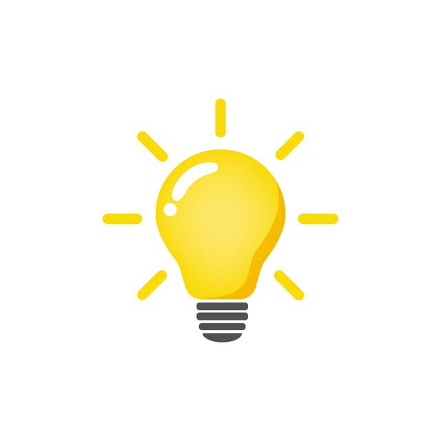 Hình ảnh Bóng đèn Biểu Tượng Vector Bóng đèn ý Tưởng Biểu Tượng Minh Họa, Chuyển đổi Biểu Tượng, Biểu Tượng Thể Dục, Nhà Sản Xuất Biểu Tượng Vector và PNG với