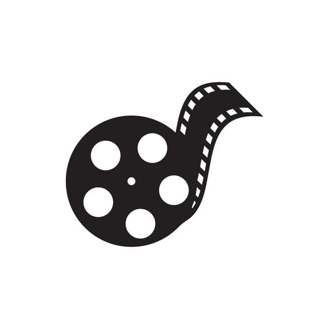 Film Logo Design Template Vector Isolated Illustration, Film