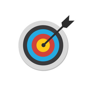 The Goal Is To Fight For Success Icon Vector Images, Accuracy, Accurate, Advantage PNG Transparent Background