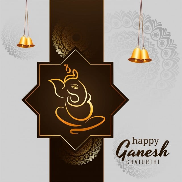 Creative Ganesh Chaturthi Festival Card Background Illustration Ganesh Chaturthi Ganpati Png And Vector With Transparent Background For Free Download