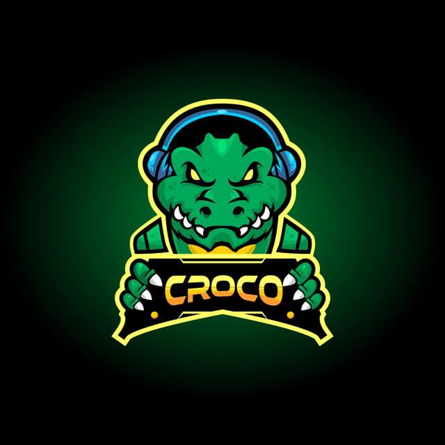 التمساح Esports تصميم الشعار شعارات أيقونات رمز تمساح Png والمتجهات للتحميل مجانا