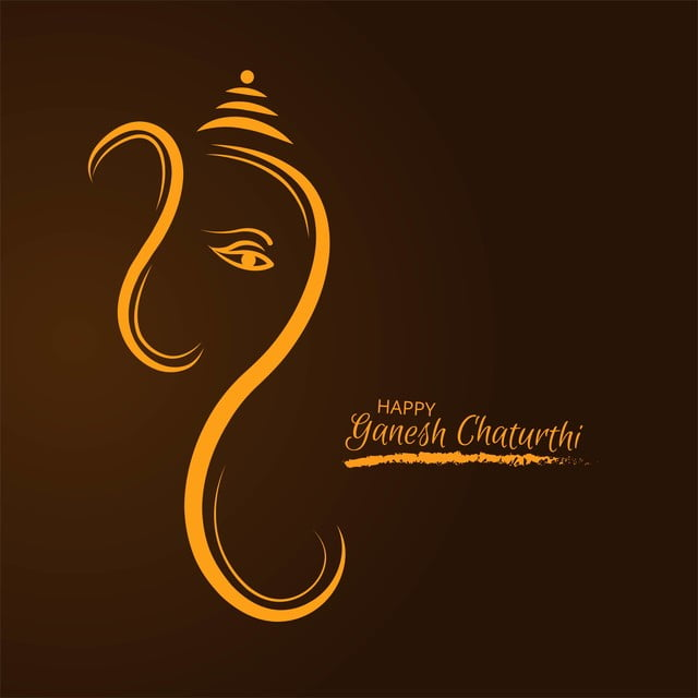 Festival Of Ganesh Chaturthi Card Celebration Design Ganesh Chaturthi Ganpati Png And Vector With Transparent Background For Free Download