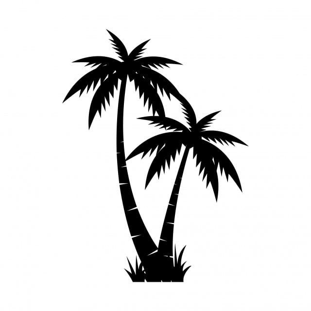Kostenlose Bastelvorlage Oder Malvorlage Fur Sommer Palme