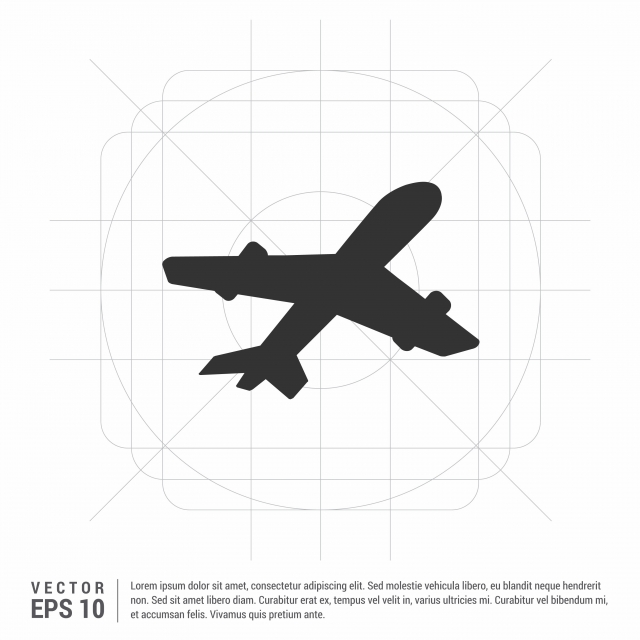 Airplane Icon Airplane Icons Airplane Vector Png And Vector