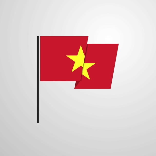Vietnam Waving Flag Design Vector Background 2 2nd Asia Png And Vector With Transparent Background For Free Download