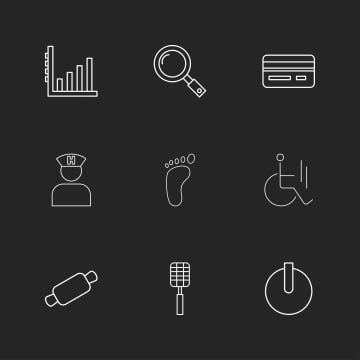 9 Free Outline Icon Sets, Collection, Couple, Creative PNG