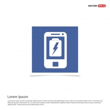 Blue Mobile Phone Like Social Interface Illustration, Photo