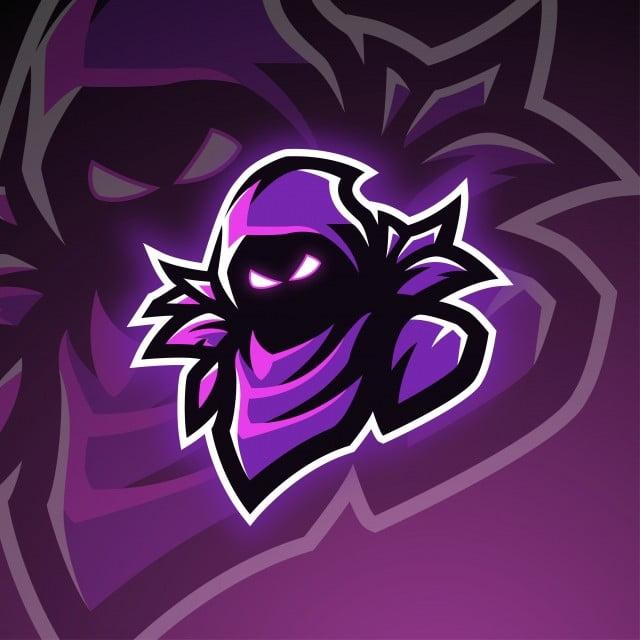 Raven Esports Mascot Logo Design