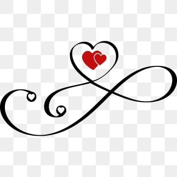 Heart Infinity Png Images Vector And Psd Files Free Download On Pngtree