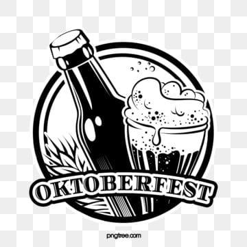 retro linie oktoberfest linie logo, Oktoberfest, München, Feiern PNG und Vektor