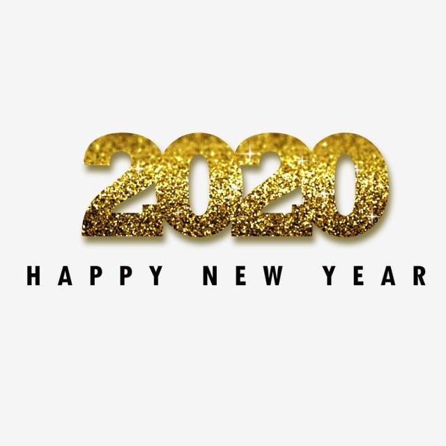 Feliz Año Nuevo 2020, 2020, Feliz, Nuevo PNG y Vector para ...