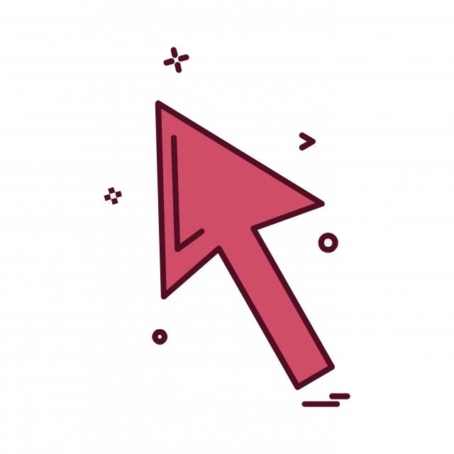 Diseño Vector Icono De La Flecha Hacia Arriba, Arriba, Flecha ...