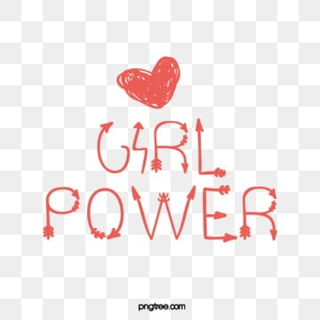 cute minimalist handwriting creative female power feminist art word, Handwriting, Creative, Female Power PNG and Vector