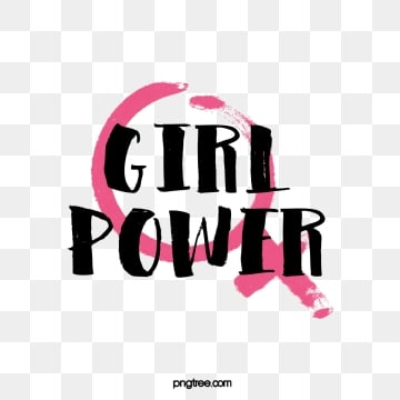 female feminist symbol female power creative pink black art word, Feminist, Female Symbol, Woman PNG and Vector