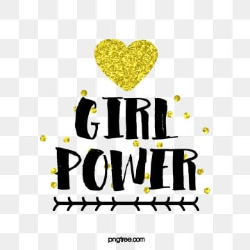 golden love female power black creative art word, Black, Creative, Word Art PNG and Vector