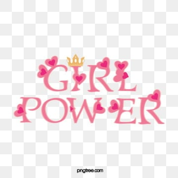 pink creative love crown cute female power feminist art word, Heart Love, An Crown, Lovely PNG and Vector
