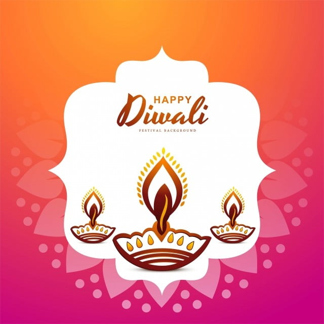 Artistic Colorful Background For Happy Diwali Festival