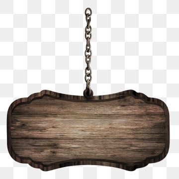 wooden sign with chain, Wood, Wooden Sign, Chain Imágenes PNG and vectoriales graphics