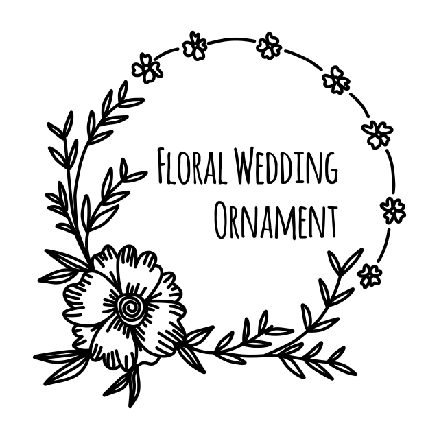 garis besar bunga dan doodle bunga yang ditarik undangan pernikahan ornamen koleksi ilustrasi vektor gambar yg tak berarti bunga desain png dan vektor dengan latar belakang transparan untuk unduh gratis pngtree