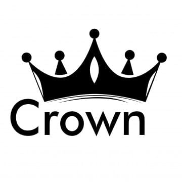pngtree black crown icon vector png image 1724330